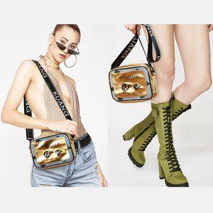 Canned Shrimps Retro Style Handbag Crossbody Bag